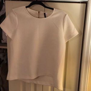 Off-white Blouse ( has a matching skirt)